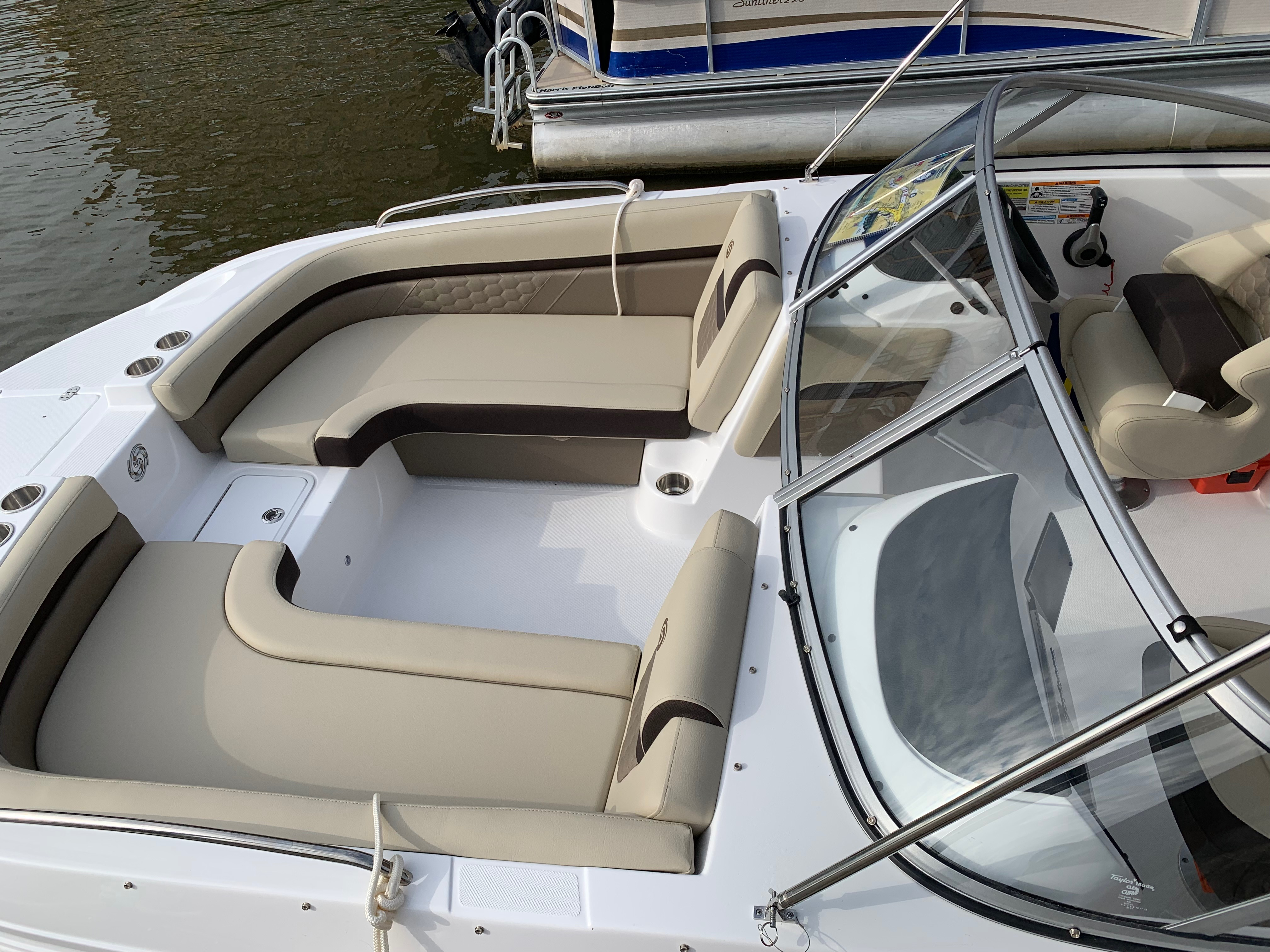 Dragonfly (Deck Boat; 2019 Hurricane SD 217 - 150HP)