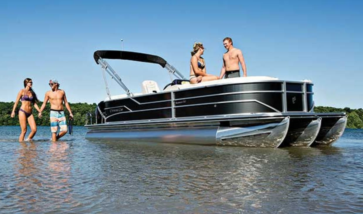 Just Arrived - Cypress Cay 232 Tritoon