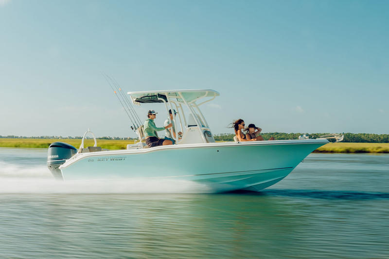 TWO 2020 Key West 239 FS Center Console