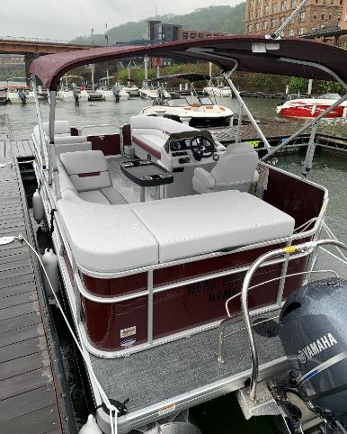 Work From Home (Pontoon Boat; 2021 Sweetwater 2186 - 115HP)
