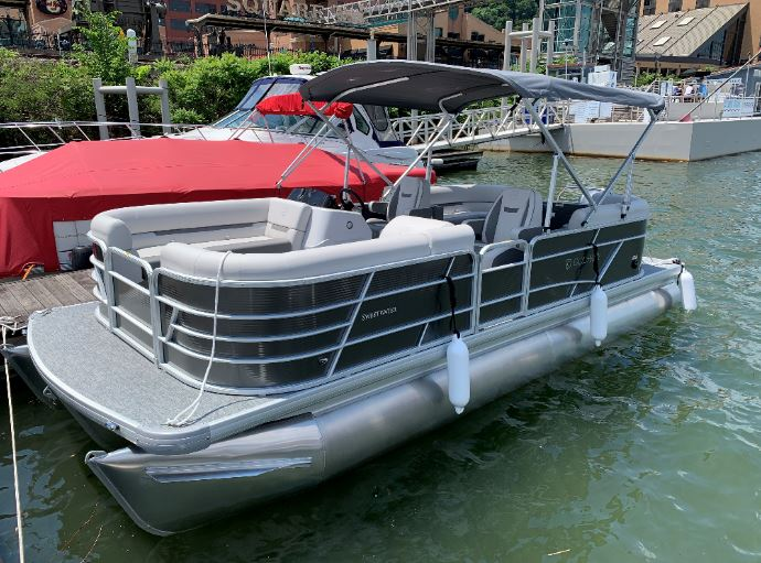 Crabby Patty (Tritoon Boat; 2021 Sweetwater 2286 SBX - 115HP)