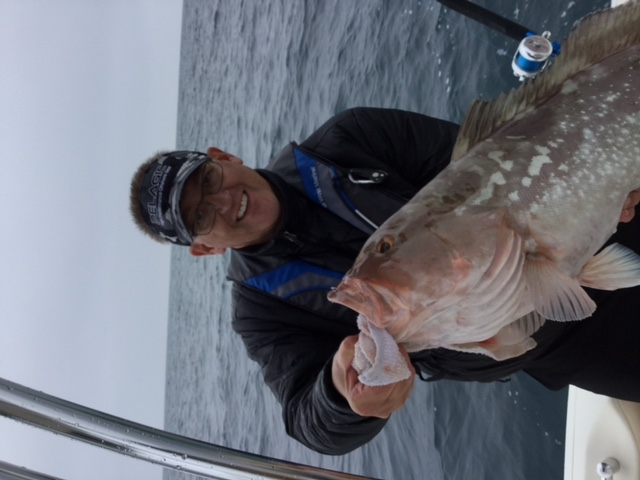 Red Grouper caught by member