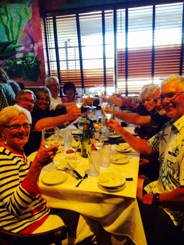 Cheers! Wine pairing social at the Saltwater Cafe