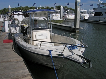One of Freedom Boat Club's Center Console Boats
