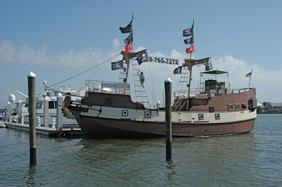 Pirate Charter at Salty Sam's Marina