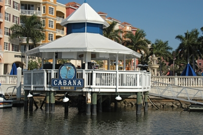 Cabana Bar near Naples Freedom Boat Club