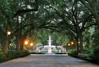 Forsyth Fountain - Savannah