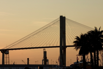 Talmadge Memorial Bridge over the Savannah River