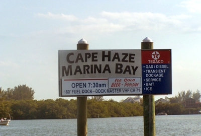 Cape Haze Marina Bay Sign