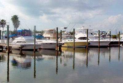 Freedom Boat Club Docks - Cape Haze Marina Bay