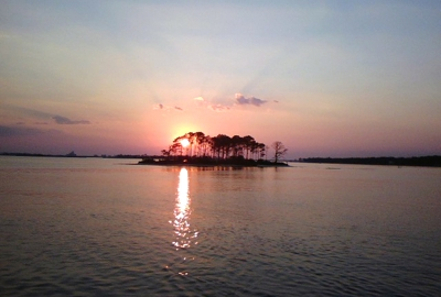 Sunset in Perdido Bay