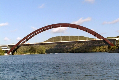 The 360 Bridge over Lake Austin