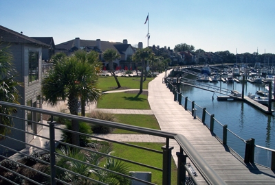 Bohicket Yacht Club & Marina Boardwalk