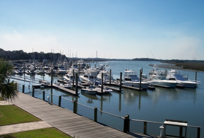 Freedom Boat Club Docks - Bohicket Yacht Club & Marina