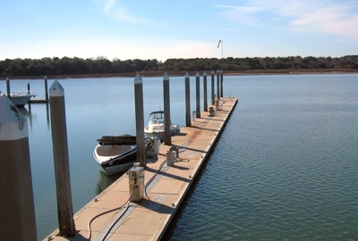Fuel Dock - Skull Creek Marina