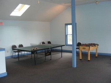 Game room at FBC Portsmouth