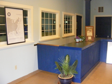 Reception area at FBC Portsmouth