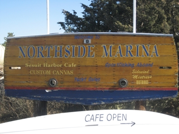 Northside Marina Sign