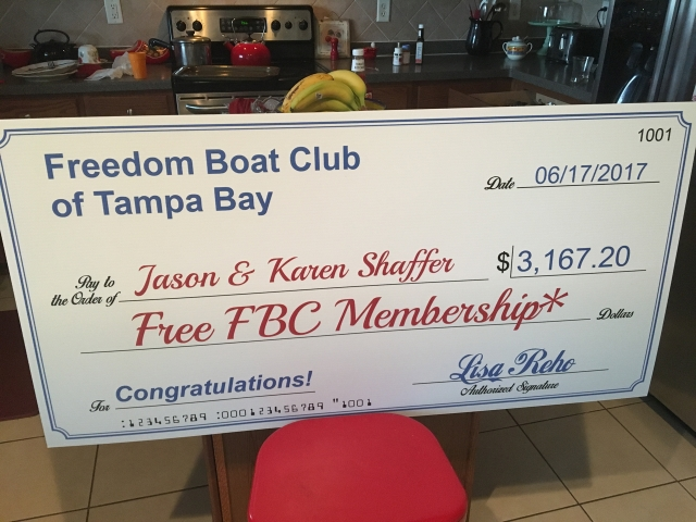 They Won a Free Membership!
