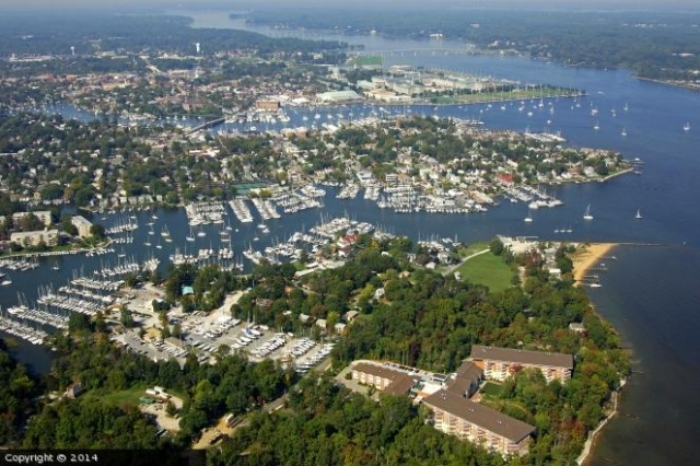 Annapolis and the Severn River