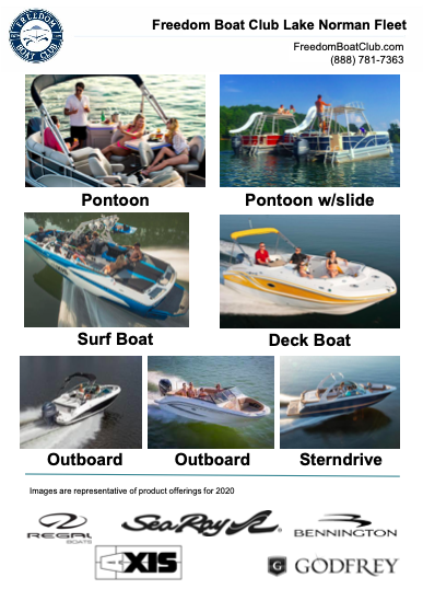 Lake Norman Fleet Sheet